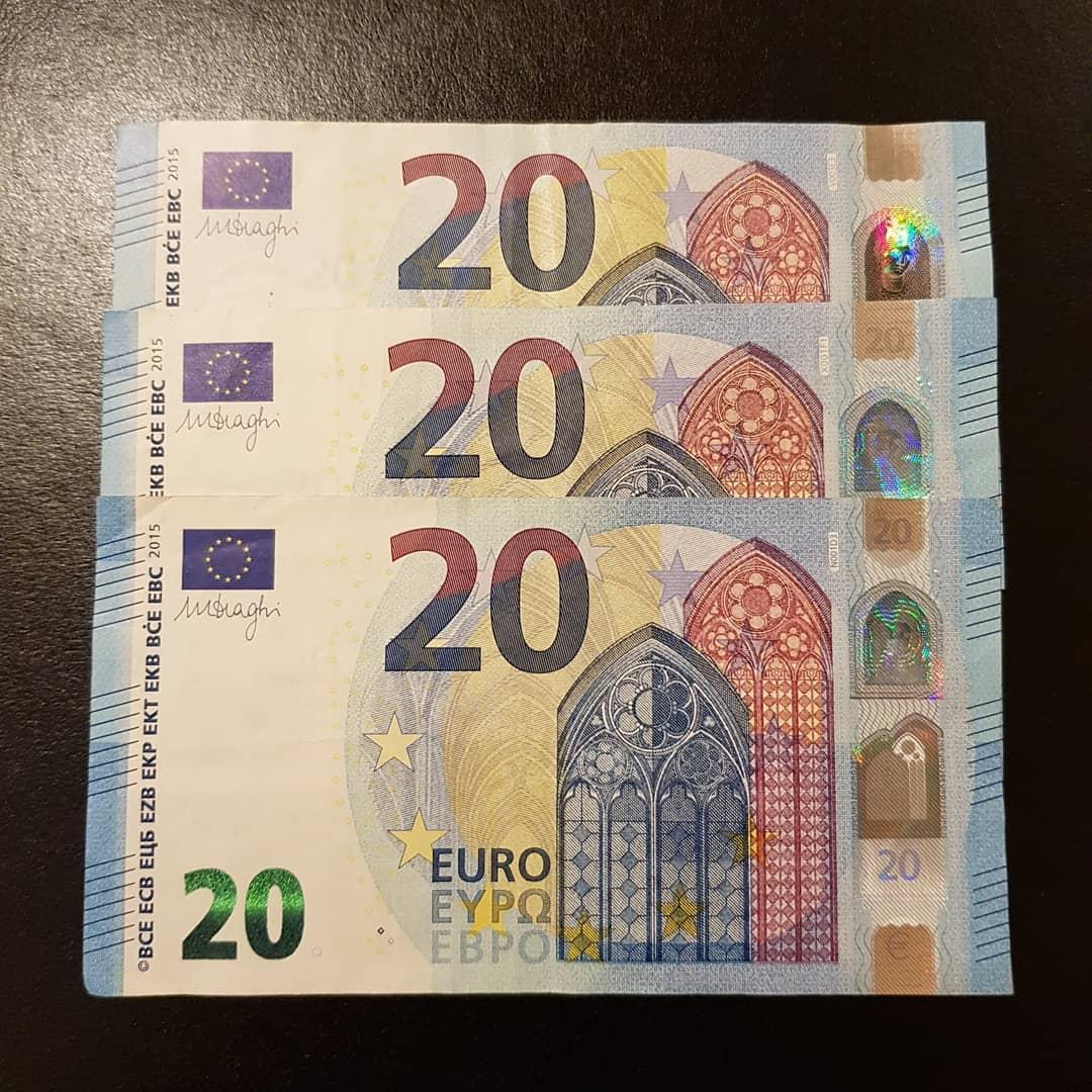 Kaufen Sie Euro-Banknoten online
