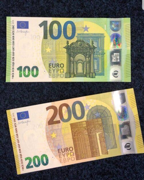 Bestellen Sie gefälschte 200-Euro-Scheine online